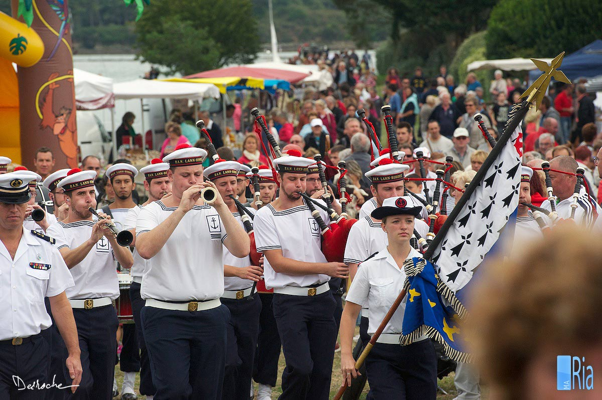 festival interceltique en Bretagne