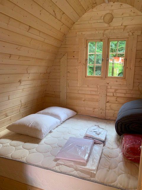 hébergement insolite avec lit double